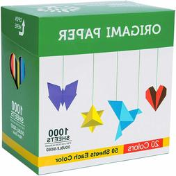 Origami Paper 1000 Sheets 6 Inch Square Double Sided Color 2