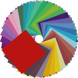 Origami Paper Double Sided Color - 200 Sheets - 20 Colors -