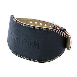 Harbinger 6 Padded Leather Weight Lifting Belt - Small