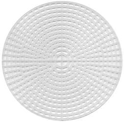 Darice Plastic Canvas Shape Circles 6 Inches Clear