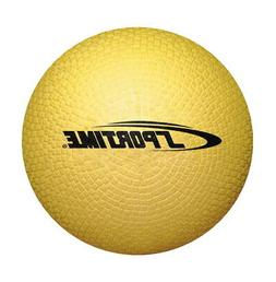 School Smart Playground Ball - 6 inch - Yellow