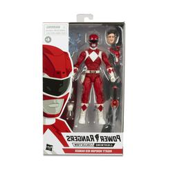 "Power Rangers Lightning Collection 6"" Mighty Morphin Red Ran"