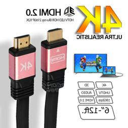 Premium High Speed HDMI V2.0 Cable HDTV LED 3D 2160P 4K X2K