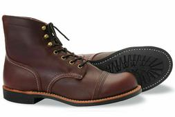 Red Wing Heritage 6 Inch Iron Ranger Mens Work Boots Oxblood