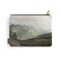 Society6 Rocky Mountain Valley Carry-All Pouch Small