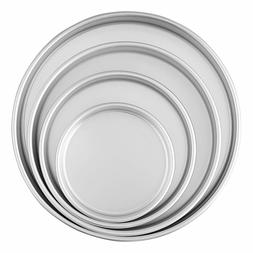 Wilton Round Cake Pans, 4 Piece Set for 6-Inch, 8-Inch,10-In