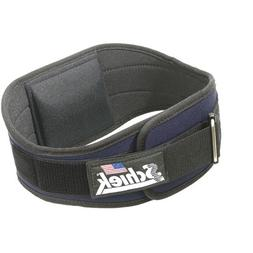 Schiek Industrial 6 inch Nylon Support Belt Black - XL