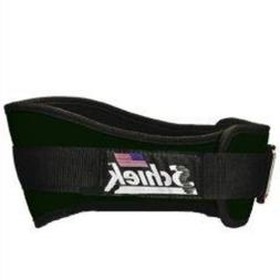 SCHIEK Nylon Lifting Belt-6 INCH Forest Green Large