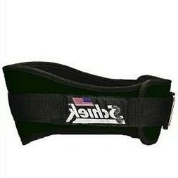 SCHIEK NYLON LIFTING BELT-6 INCH FOREST GREEN LARGE New