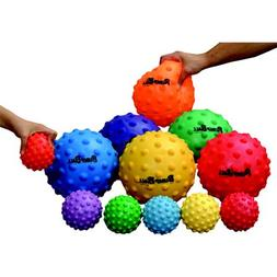 "Sportime's SloMo BumpBalls, 4"", Assorted Colors, Set of 6"