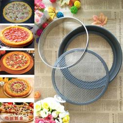 Stainless Steel Flan Ring Tart Cake Pastry Baking Mould for