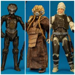 STAR WARS BLACK SERIES 6 Inch - Dengar #74, Zuckuss & 4-LOM