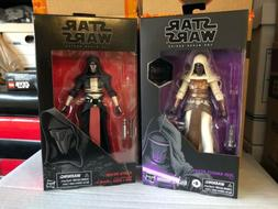 STAR WARS BLACK SERIES 6 Inch - Jedi Knight & Darth Revan -