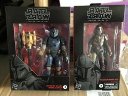 STAR WARS BLACK SERIES: 6 Inch - The Mandalorian & Heavy Inf