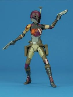 STAR WARS BLACK SERIES: 6 Inch - Sabine Wren #33 - LOOSE / M