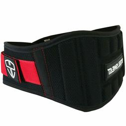 Steel Sweat Weight Lifting Belt - Nylon 6-inch Firm & Comfor