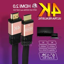 Ultra HD High Speed HDMI 2.0 Cable HDTV LED 3D 4K X2K PS4 LO