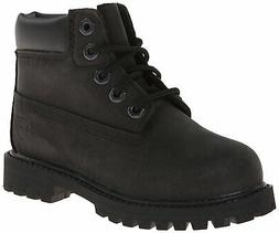 "Timberland 6"" Premium Waterproof-K, Black Nubuck, 6 M US Big"