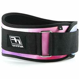 "Weight Lifting Belt - 6-inch Firm "" Comfortable Back Support"