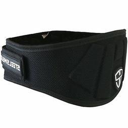 Weight Lifting Belt - Nylon 6-inch Firm & Comfortable Back S