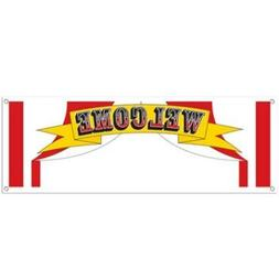Welcome Sign Banner Party Accessory